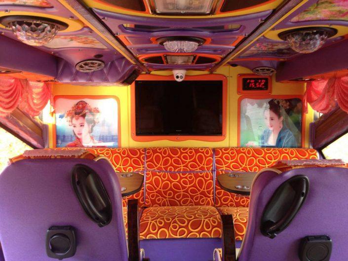 บริการรถบัส ท่องเที่ยว ปรับอากาศ VIP
